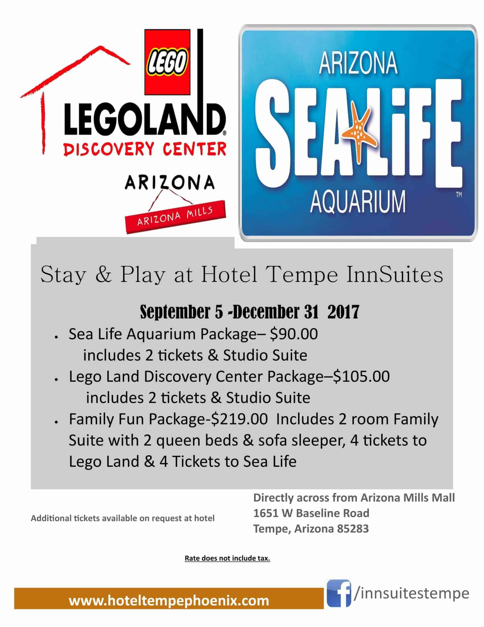 Legoland Sea Life Package
