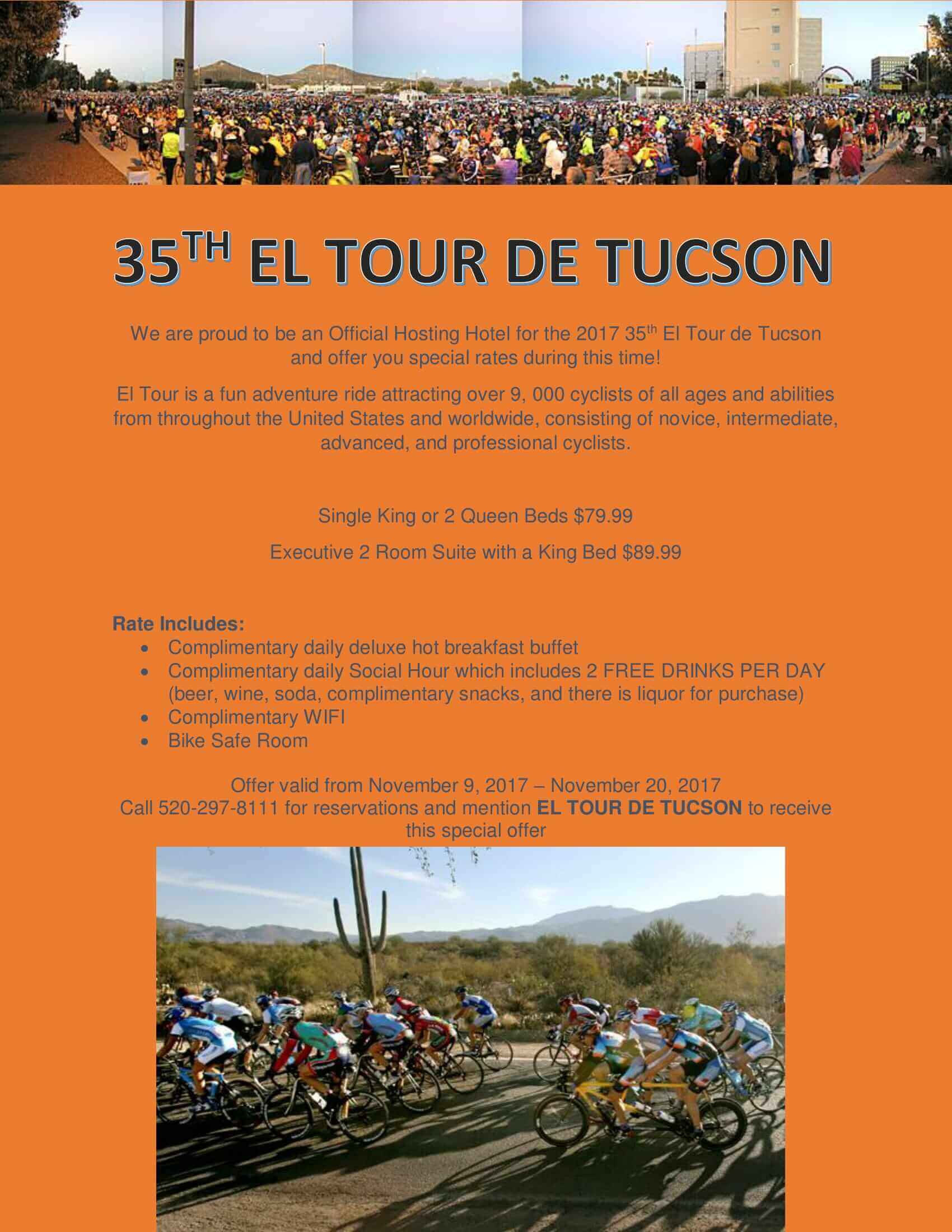 35TH TOUR DE TUCSON